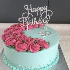 Pretty Cakes, Cute Cakes, Beautiful Cakes, Cake Decorating Designs, Cake Decorating Techniques, Decorating Ideas, Cupcakes Decorating, Cake Icing, Cupcake Cakes