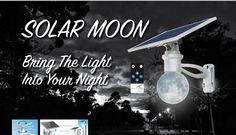 Solar Moon Light lighting up here! Export Project Application guidance