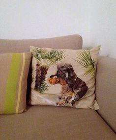 Ugo! _ Hand-painted pillow by TonT-shirt