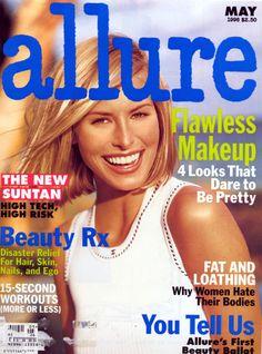 Niki Taylor , Allure magazine may 1996
