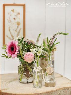 Schöner heiraten: rustikale Tischdeko I Casa di Falcone