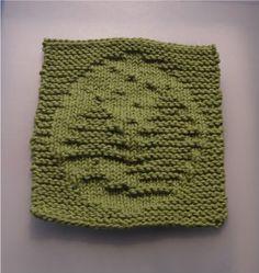 holiday knitted washcloth patterns | Dishcloth Knitting Patterns