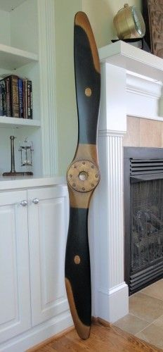 72 Inch Replica Wood Naval Airplane Propeller Black And Gold Finish In 2018 Future Lake House Pinterest Wooden