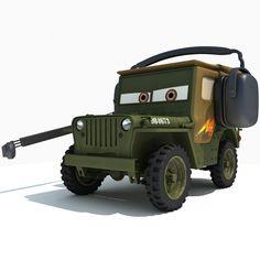 Sarge - Disney Pixar Cars 2