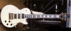 Steve Clark   Gibson Custom Les Paul Custom 3 Pickup.
