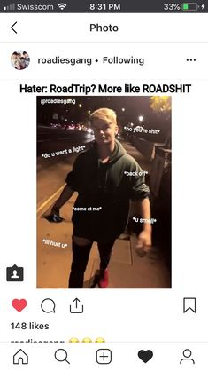 Us roadies are dangerous creatures Road Trip Meme, Road Trip Uk, Brooklyn Wyatt, Roadtrip Boyband, Tv Memes, In A Heartbeat, Boy Bands, Mood, Songs