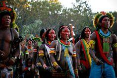 #encontrodeculturas Mebengôkrê, com muito orgulho!