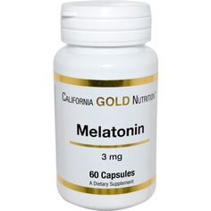 FREE from #iHerb California Gold Nutrition Melatonin 3 mg $4,95 OFF - Now FREE ! #RT #Deals Discount applid in cart