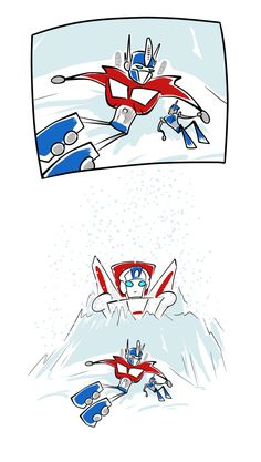 This made me laugh. Poor sky fire always left in the ice