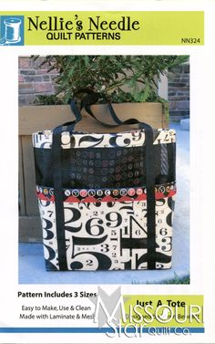 Just a Tote Pattern from Missouri Star Quilt Co