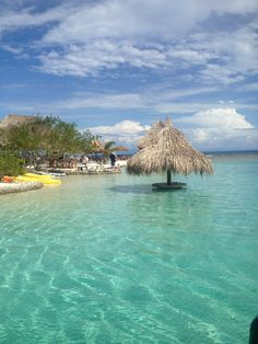 The Little French Keys, Roatan, Honduras. Beautiful water to snorkel in along with a nice petting zoo.