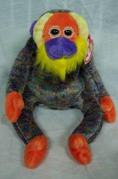 "BIRTHDAY JUNE 30 Ty Beanie Baby 2000 Bananas The Orangutan Monkey 4"" Stuffed Animal Toy New | eBay"