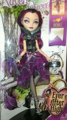Ever+After+High+Dolls | Ever After High Doll- RAVEN QUEEN ....New! (spin off from Monster high ...||got her!