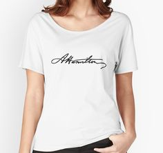 Alexander Hamilton Signature by whotheeffisthis
