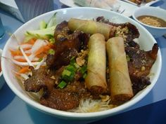 Bun Thit Nuong - the BEST Vietnamese food.
