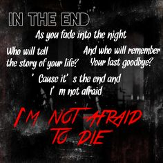 In the End- Black Veil Brides