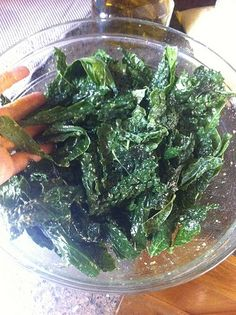 Kale Chips...Yummy!