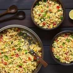 🍴Jáhelné rizoto recept – rychle, zdravě a jednoduše 🍴 Jimezdrave.cz Israeli Couscous Salad, Couscous Salad Recipes, Vegetarian Recipes, Cooking Recipes, Healthy Recipes, Healthy Weeknight Dinners, Tomato Soup Recipes, Healthy Eating, Stuffed Peppers