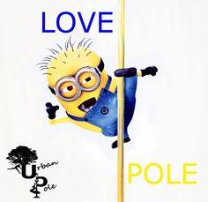 Pole dancing minions