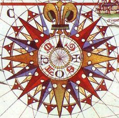 antique compass rose images - Google Search