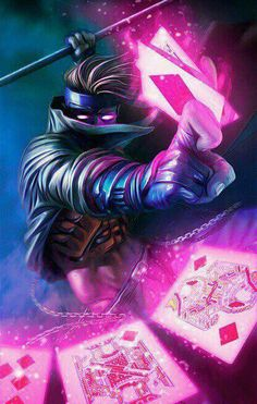 I be the thief, chere...and there you go off stealin' my heart. Can't be keepin' any promises p'tite. If dis thing involves you and Belle...it's got to involve me!  -Gambit (Eart-616)
