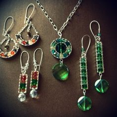 Katie's Beading Blog: Use Katiedids channel findings with Swarovski Elements to create elegant beaded jewelry.