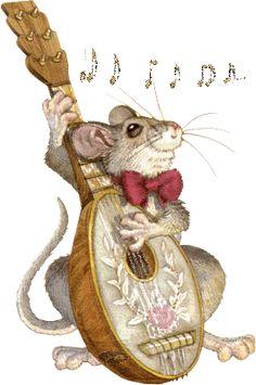 Un rat contrebassiste...