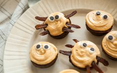 Spider Brownie Bites