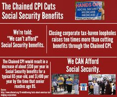 The Chained CPI, the stealth benefit cut to #SocialSecurity, is being promoted by some in Washington. It will affect veterans, seniors, and the disabled.