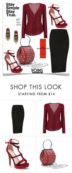 """""""Yoins"""" by kiveric-damira ❤ liked on Polyvore featuring yoins, yoinscollection and loveyoins"""