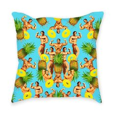 Currently inspired by: Arnold Loves Pineapples Pillow on Fab.com