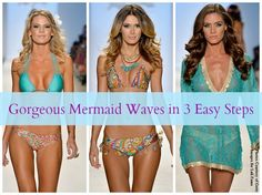 Get the Look: Mermaid Waves from Mercedes-Benz Fashion Week SWIM 2014 #hair #beauty #fashionweek