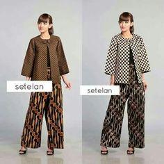 Kebaya Lace, Kebaya Dress, Batik Kebaya, Batik Blazer, Blouse Batik, Batik Dress, Fashion Pants, Hijab Fashion, Fashion Dresses
