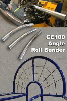 CE100 Angle Roll Bender