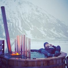 patagonia:  @thetorpedopeople kicking back after a day of surfing in Norway. Photo by @chrisburkard