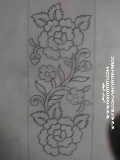 Grand Sewing Embroidery Designs At Home Ideas. Beauteous Finished Sewing Embroidery Designs At Home Ideas. Mexican Embroidery, Hand Work Embroidery, Ribbon Embroidery, Floral Embroidery, Machine Embroidery, Border Embroidery Designs, Embroidery Patches, Hand Embroidery Patterns, Shirt Embroidery