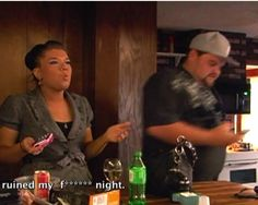 At this point, don't you ruin each other's night by being nice? - Amber and Gary on Teen Mom. UGH