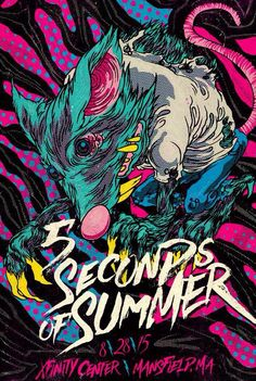 Mansfield's limited edition ROWYSO poster----> I live in New Hampshire and this is the closest they have ever been to me!!! I wish I could've gone to the concert, but I didn't have the money. Maybe next year! :)