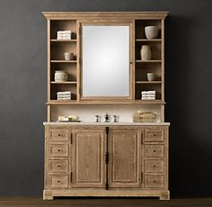 Find This Pin And More On BV House By Sherrstone. Vanity Hutch With  Recessed Lights   DIY Projects