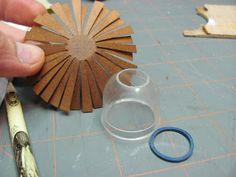 Dollhouse Miniature Furniture - Tutorials | 1 inch minis: Gumball Machine Baskets, Part 2
