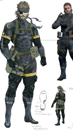 Angel Raiden — Some new arts from Metal Gear Solid V Art Book.