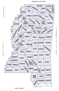 Mississippi County Map                                                                                                                                                                                 More