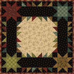 = free pattern = Farmstead Game Board mini quilt by Kim Diehl