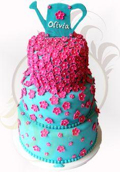 Garden cake - Caketutes Cake Designer
