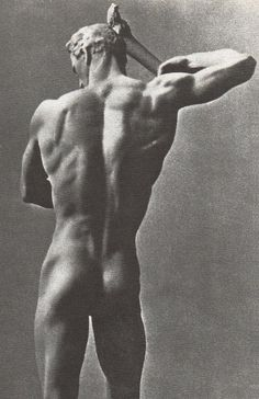 travelerfromanantiqueland: aesthetic-of-art Arno Breker, Prometheus, 1938