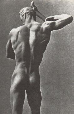 travelerfromanantiqueland: aesthetic-of-art Arno Breker, Prometheus, 1938