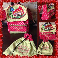 Tiny Kindergarten Rucksack Set