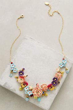 Bouquet Necklace #AnthroFave