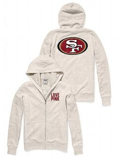 48e5605c54 M-Sparkle from the stands in the Faux-fur Lined Hoodie from Victoria s  Secret PINK! Lined with faux-fur