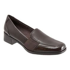 Women's Trotters Arianna Dark Patent Leather/Burnished Soft Kid (US Women's 6 N (Narrow))